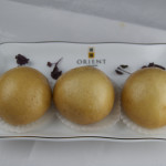 Deep fried custard buns