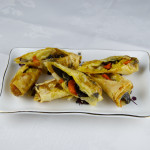 Monk's vegetarian spring roll